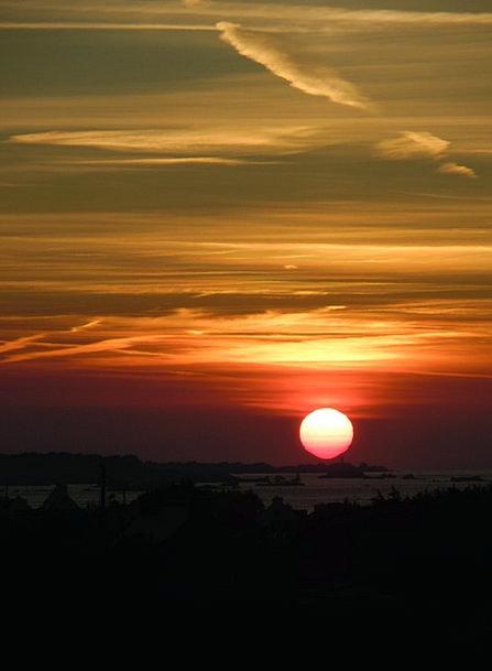 Sunset Sundown Vacation Warmth Travel Evening Sky