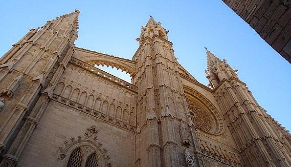 Palma Cathedral Cathedral Of Santa Maria Of Palma