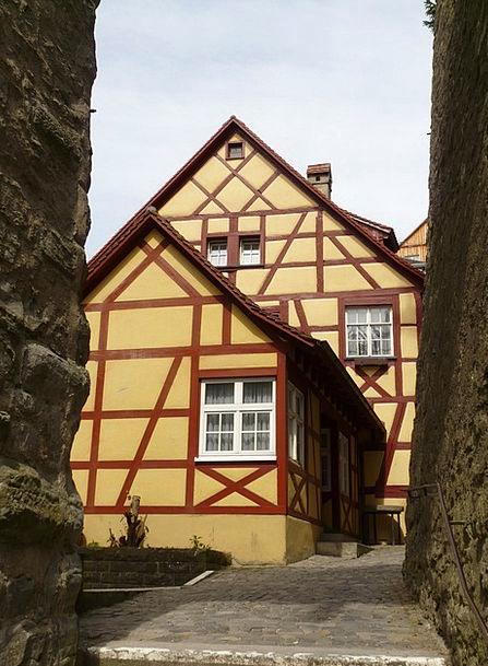 Fachwerkhäuser Buildings Bind Architecture Old Tow