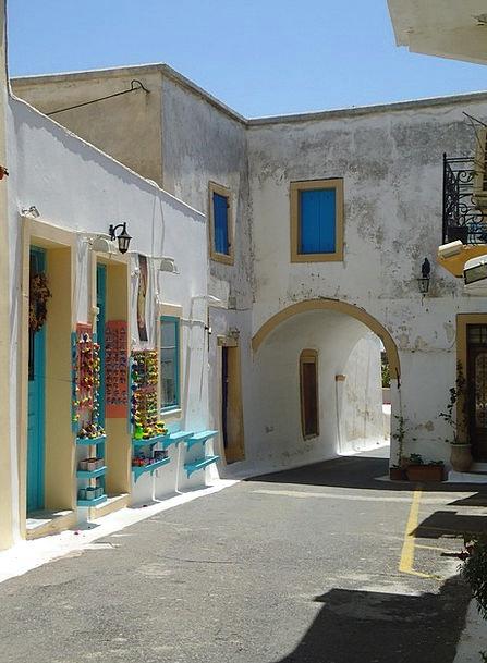 Village Community Buildings Architecture Lane Path