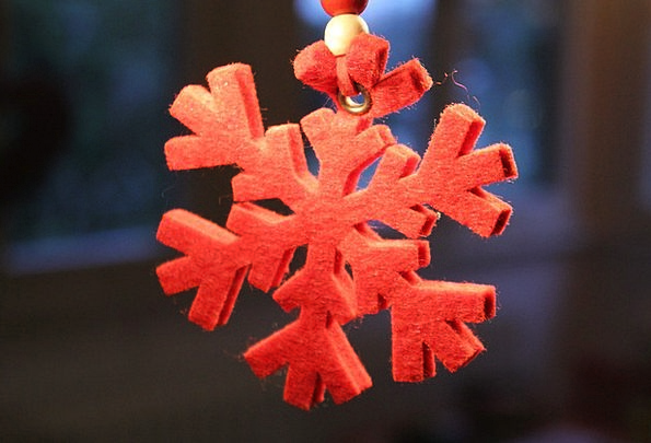 Snowflake Snow Textures Bloodshot Backgrounds Chri