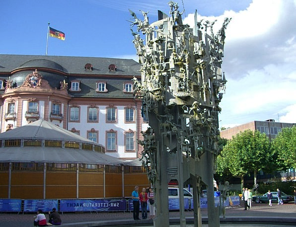 Mainz Carnival Fountain Buildings Architecture Mon