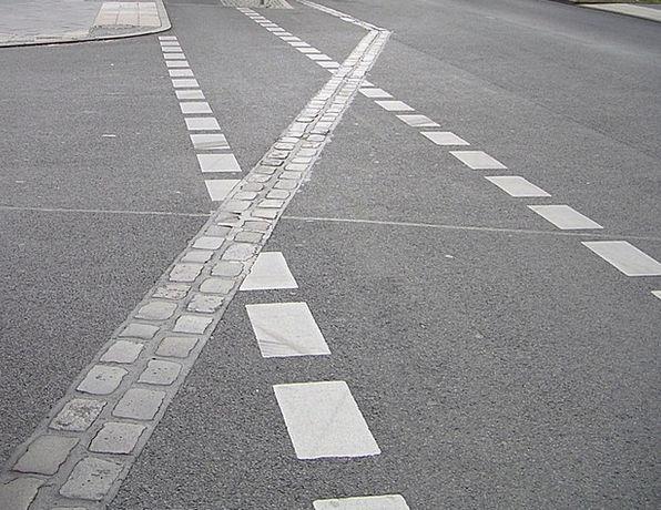 Road Marking Traffic Transportation Mark Spot Pavi