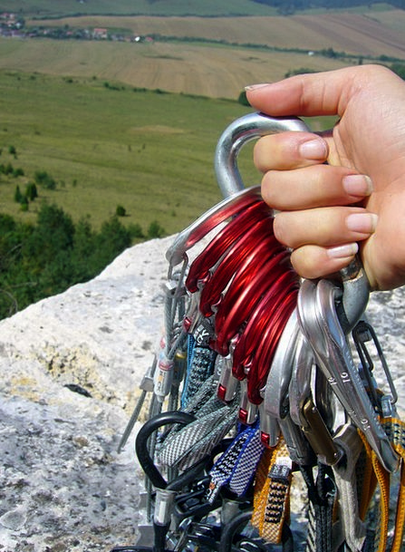 Climbing Uphill Pillar Rope Cord Rock Chalk Ropes