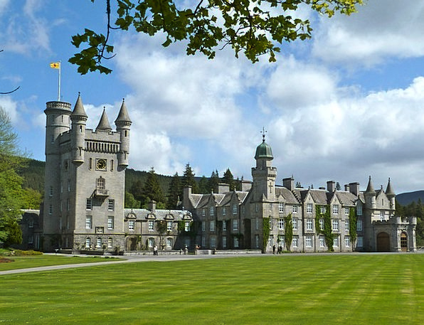 Balmoral Castle Buildings Memorial Architecture Ol