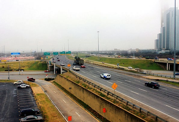 Dallas Traffic Thoroughfares Transportation Usa Hi