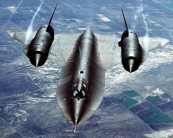 Jet Plane Reconnaissance Investigation Sr 71 Mach