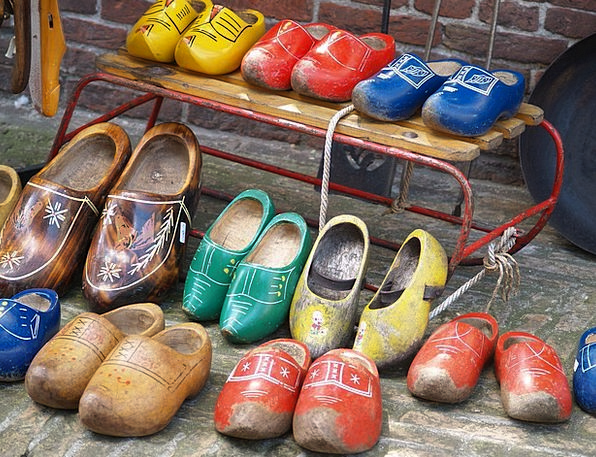 Wooden Shoes Fashion Beauty Shoes Holland Color Wo
