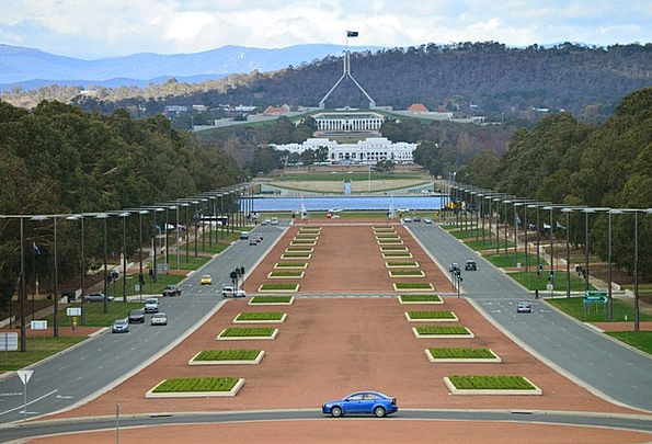 Canberra Parliament House Australia