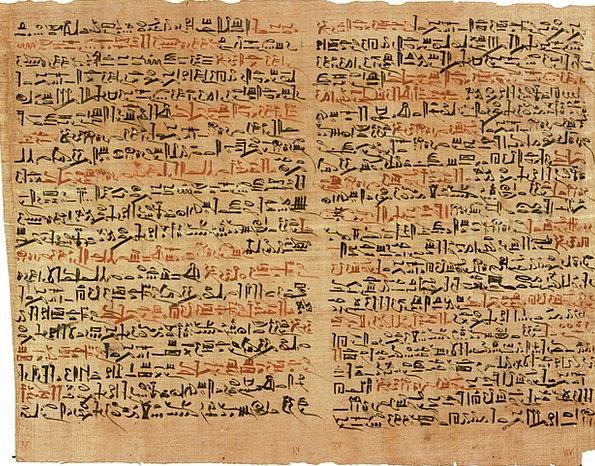 Papyrus Monuments Symbols Places Ancient Egyptian