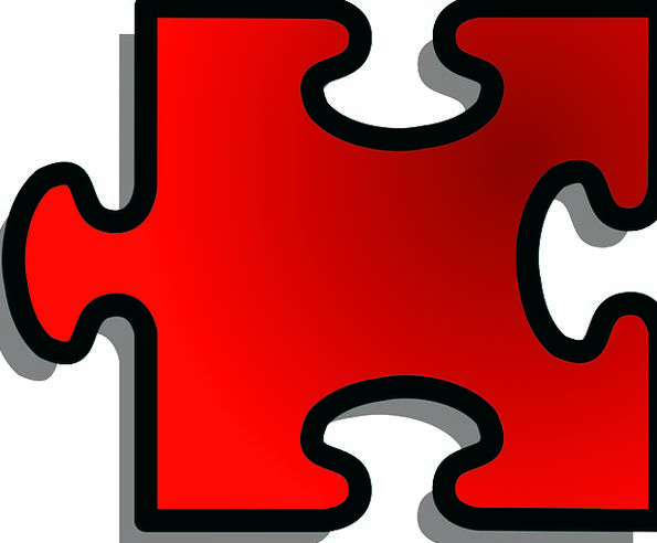 Jigsaw Mystery Piece Part Puzzle Solution Single S