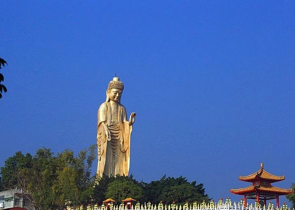 Taiwan Blue Sky Buddha Statues