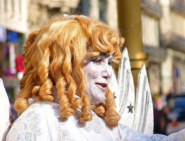 Angel Seraph Expression Lure Bait Face Hair Mane W