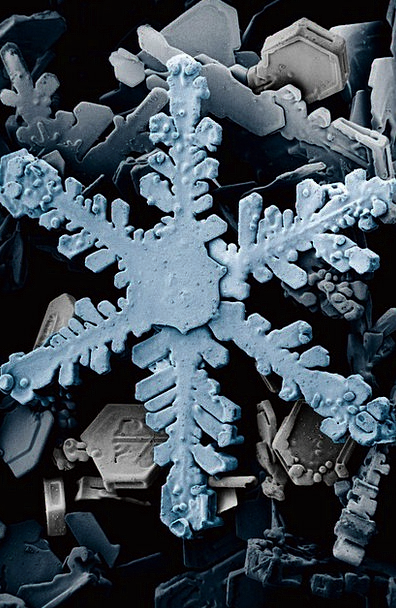 Ice Crystal Minerals Snow Snowflake Crystals Frost