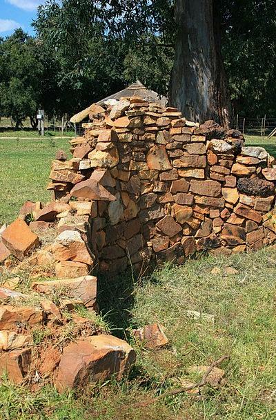 Stone Built Ruin Buildings Devastation Architectur