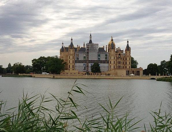 Castle Fortress Schwerin Mecklenburg Western Pomer