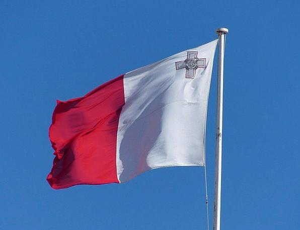 Flag Standard Brier Malta Blow Setback