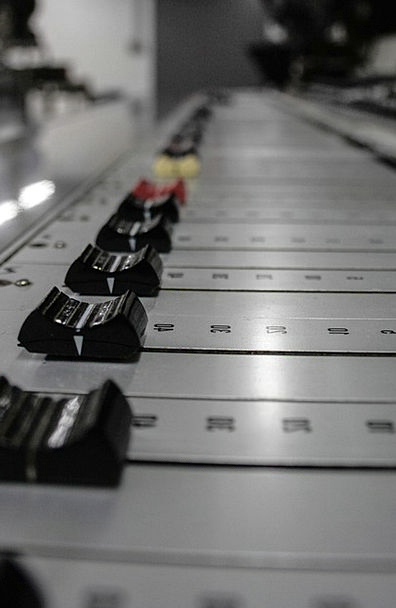 Music Melody Slider Mixing Console