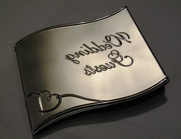 Wedding Bridal Visitors Book Volume Guests Recepti
