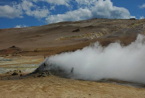 Iceland Landscapes Nature Elementary Basic Volcano