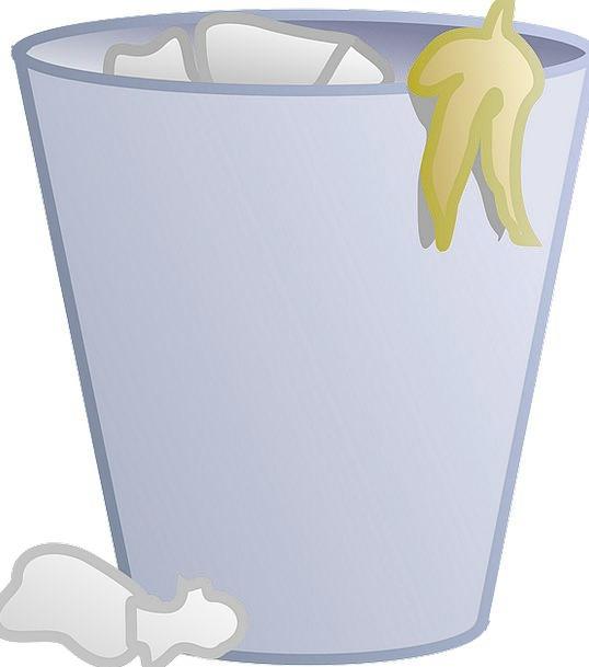 Trash Can Rubbish bin Bosh Waste Leftover Rubbish