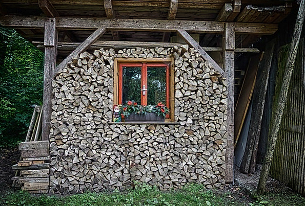 Hut Shed Buildings Timber Architecture Stacking Pi