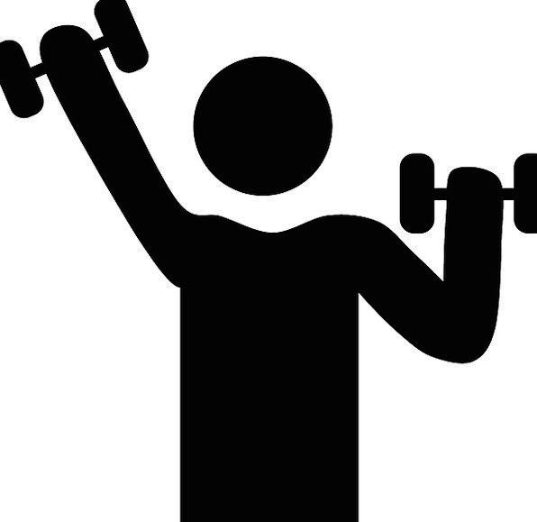 Dumbbells, Masses, Workout, Test, Weights, Sports, Symbol ...