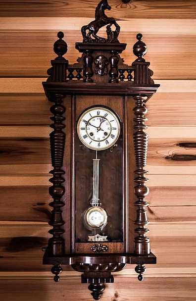 Old Clock Period Clock Shield Time Tips Instructio