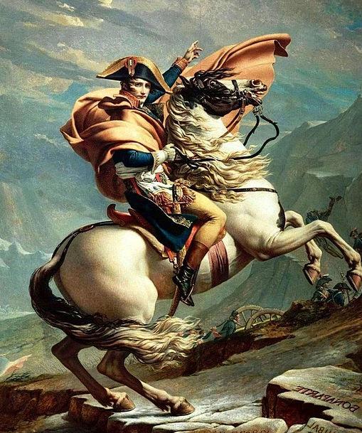 Napoleon Bonaparte Ruler France Emperor Reiter Can