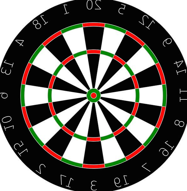 Dartboard Regeneration Board Panel Recreation Spor