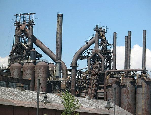 Factory, Sweatshop, Steel, Strengthen, Allentown, Pipe, Tube