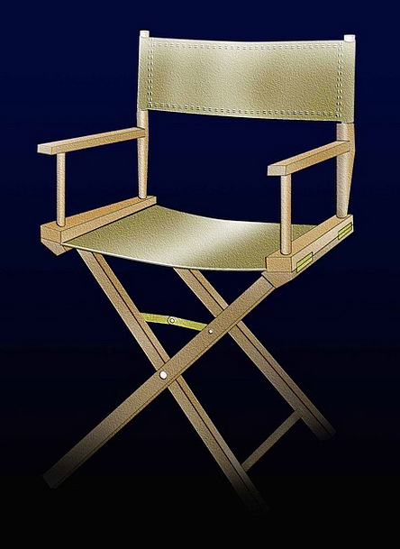 Folding Portable Managements Chairs Seats Director