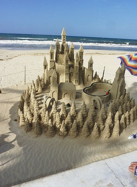 Sandburg Vacation Fortress Travel Beach Seashore C