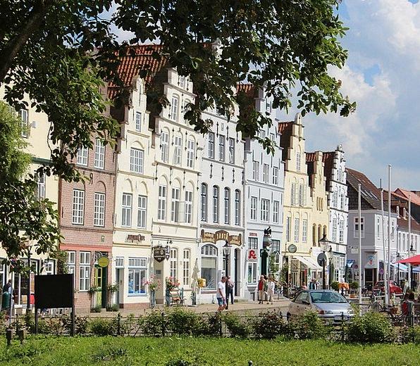 Friedrichstadt Buildings Families Architecture Row