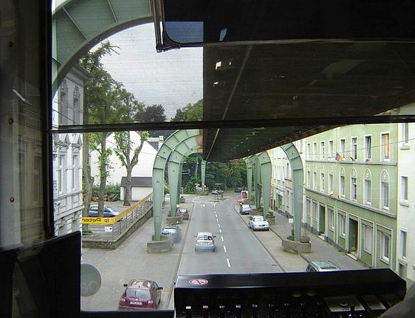 Wuppertal Bergisches Land Schwebebahn Germany