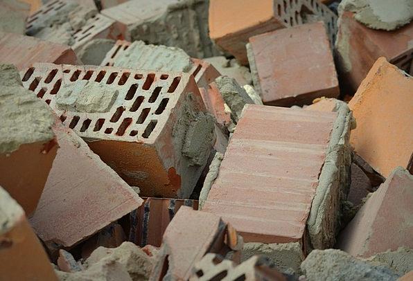Brick Element Pebble Build Shape Stone Demolition