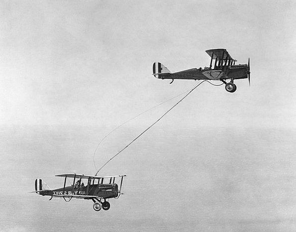 Double Decker Airplane Propeller Plane Aircraft Jo