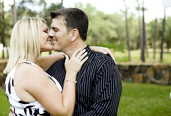 Love Darling Appointment Kiss Caress Engagement Pe