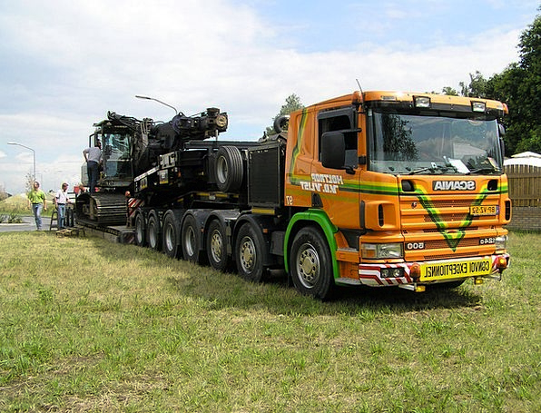 Low Loader To Estonia Drilling Machine Customs Tax