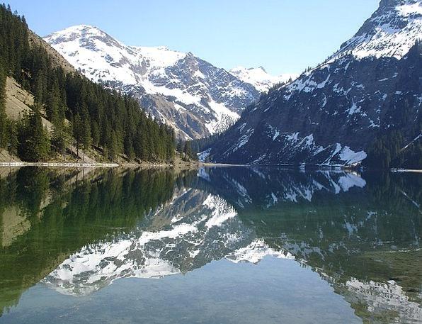 Vilsalpsee Landscapes Understand Nature Bergsee Se