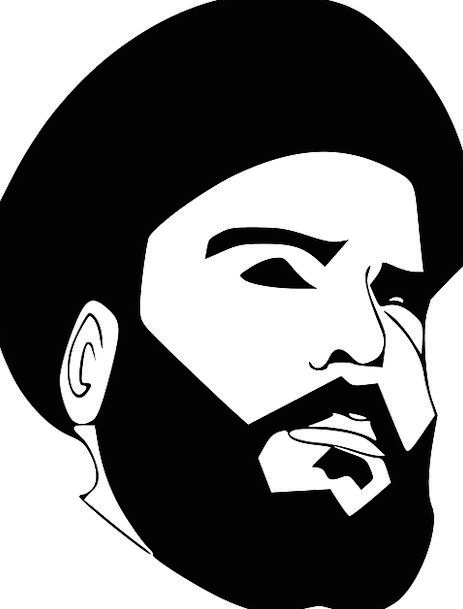 Sadr Being Face Expression Person Leader Beard Goa