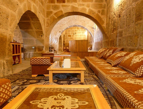 Caravanserai Shelter Oriental Hostel Homely Interi
