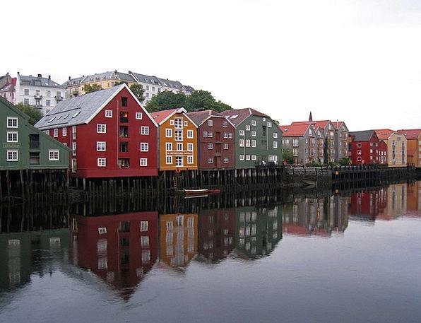 Norway Watercourse Channels Stations Waterway Stru