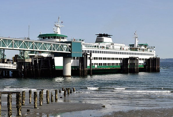 Boat Vacation Travel Edmonds Ferry Sea Washington