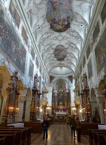 Collegiate Church Of St Peter Roman Catholic Salzb
