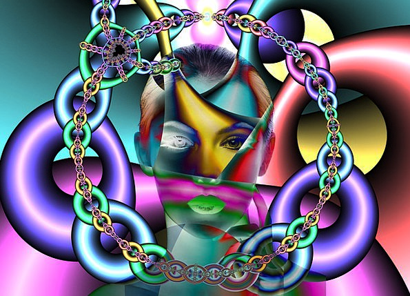 Chains Manacles Fashion Wedged Beauty Psyche Soul