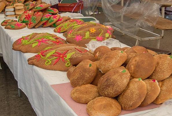 Bread Cash Zaachila Pan De Muerto Oaxaca