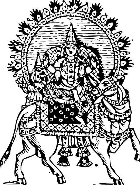 Shiva Traffic Transportation Lord Noble Siva God B