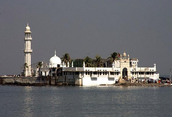 Haji Ali Shrine Vacation Travel Bombay Mumbai Musl