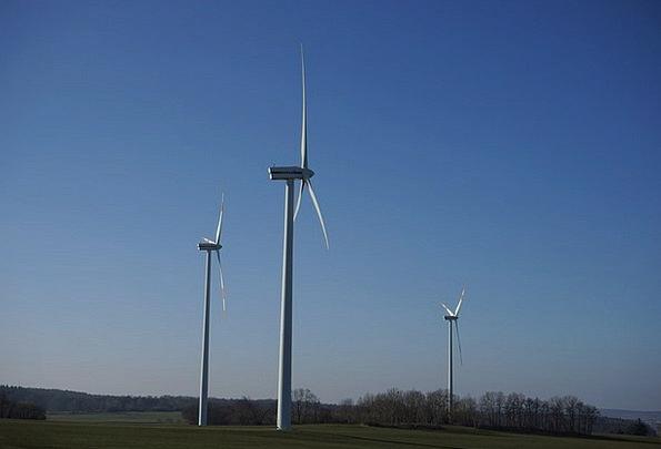 Wind Turbine Wind Park Wind Power Park Environment